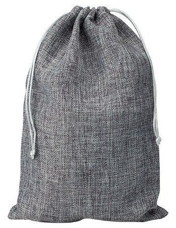 Mini Sacos de juta 20 x30 cm Antracite