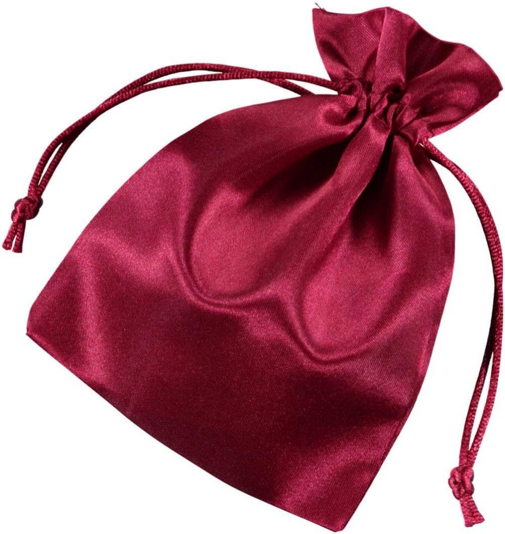 bolsas de cetim 10 x15cm vermehlo