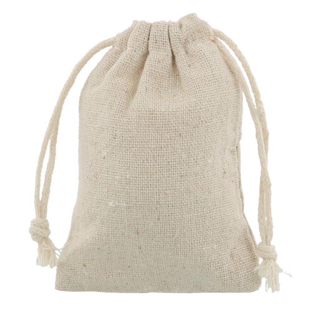sacos de linho 7,5x10cm