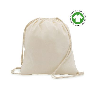50 peças Mochilas de algodão Ecológico 37x41cm 100% Algodão