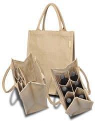 Sacos de juta para garrafasjute bottle bags