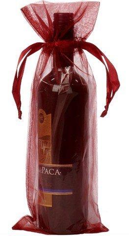 Saco organza para Garrafa vinho