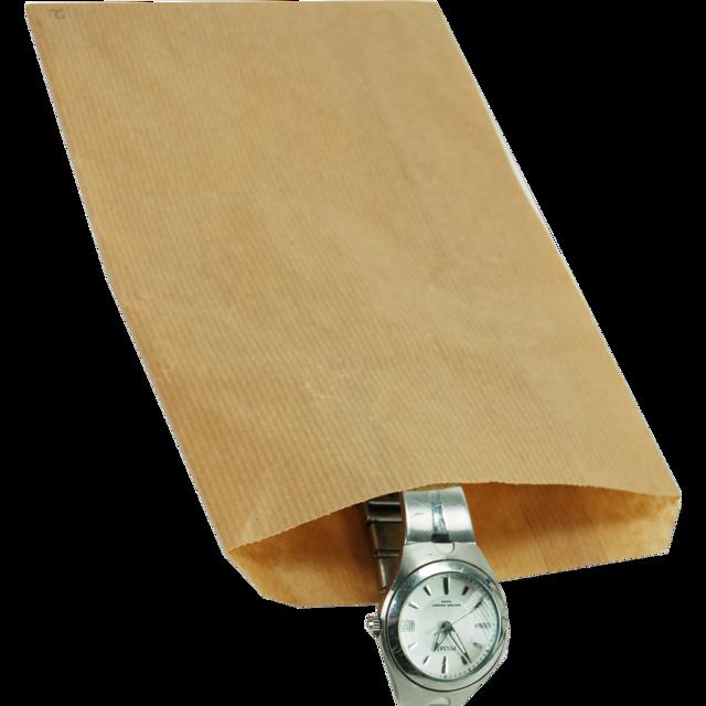 1000 peças Sacos de papel Marrom escolha de vários tamanhos