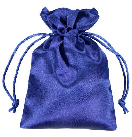 bolsas de cetim 10x15cm azul (2