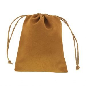 sude pouch camel brown 9,5x11,5 3.0