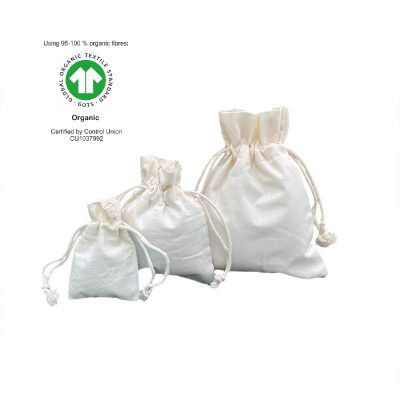 Sacos de Algodão Ecológico 116 gr m2