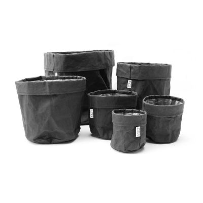 Paper bag Black complete set