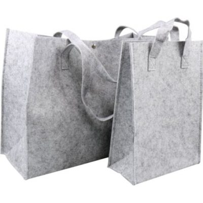 Sacos de feltro com 10 peças, escolha o seu tamanho